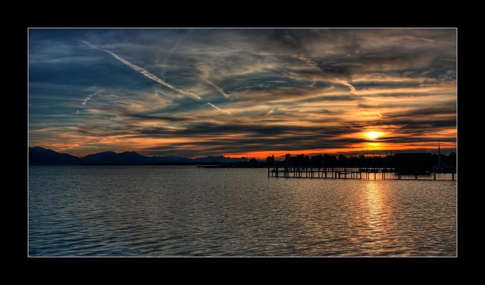 Abends am Teich ;-)