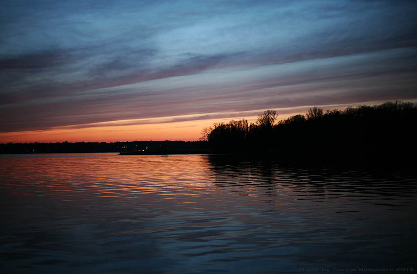 Abends am Wannsee...