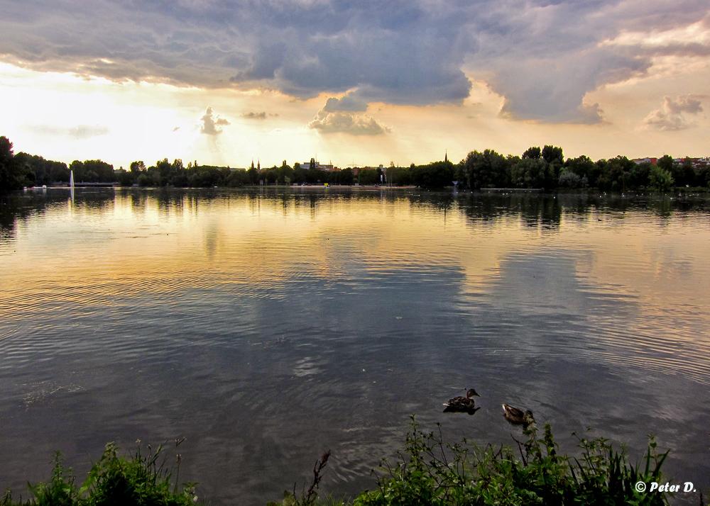 Abends am Wöhrder See