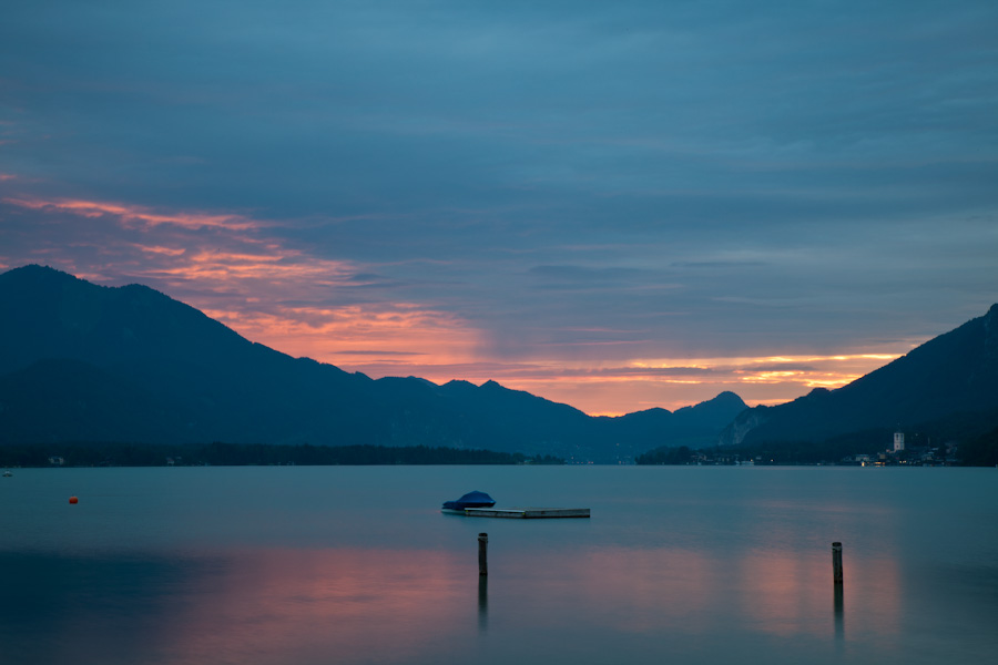Abends am Wolfgangsee