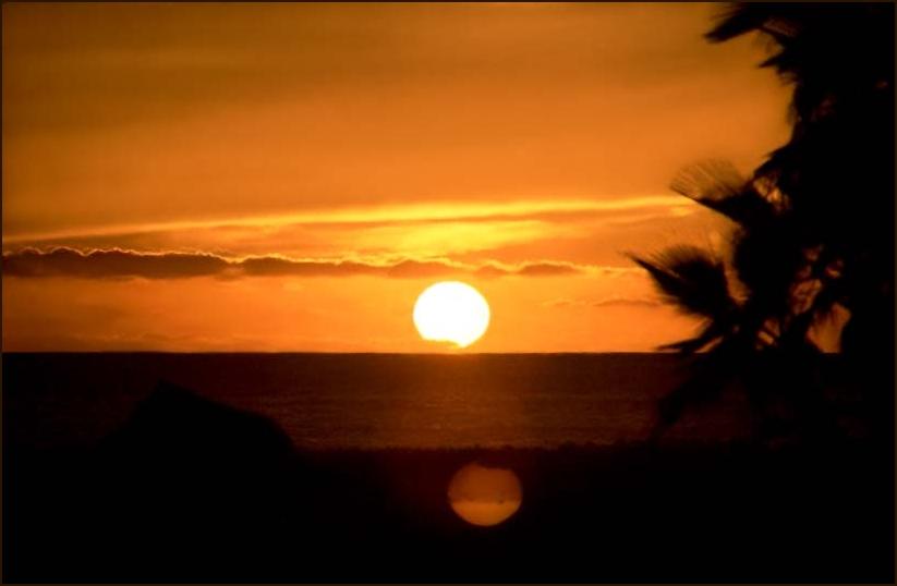 Abends auf der Baja California ...