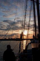 Abends auf der Nordsee