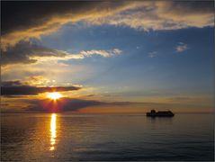 Abends auf der Ostsee