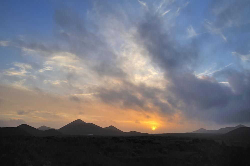 *abends auf Lanzarote*