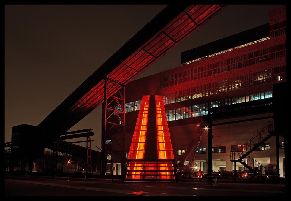 abends auf Zollverein (1.)
