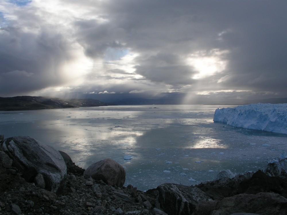 Abends beim Gletscher