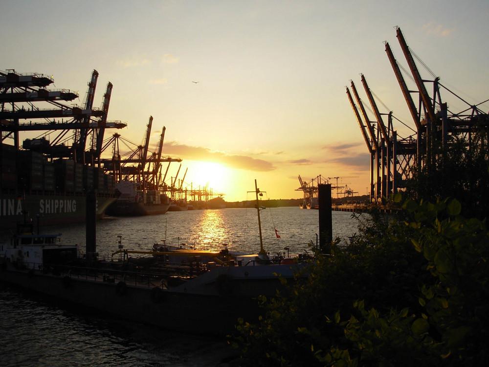 Abends im Hafen II
