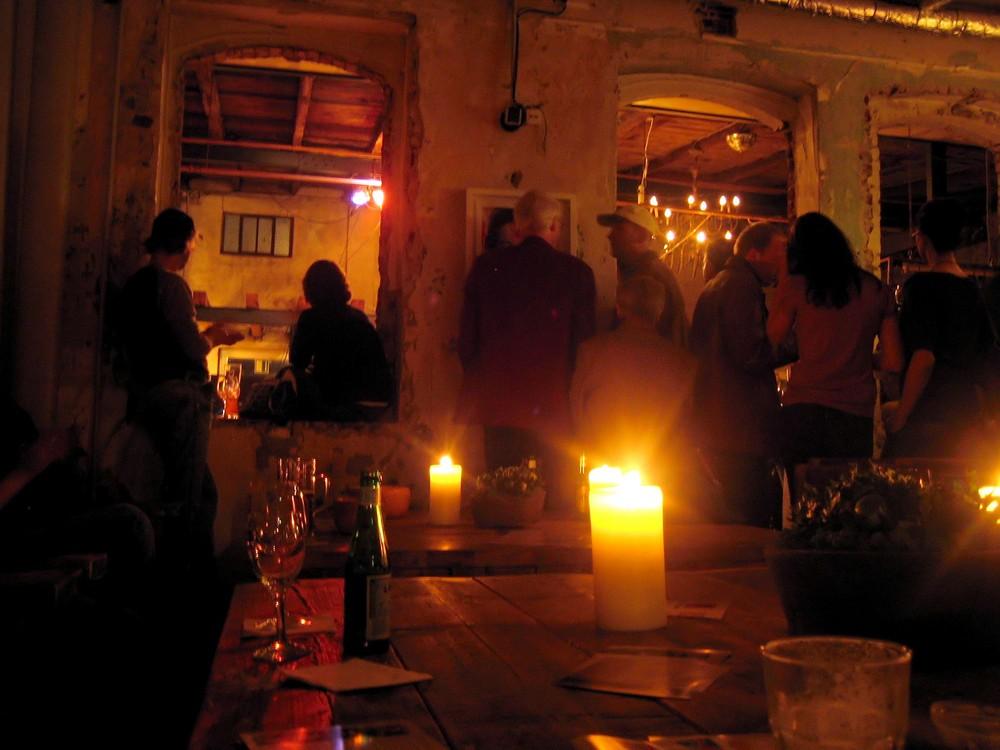 Abends im Jazz - Club