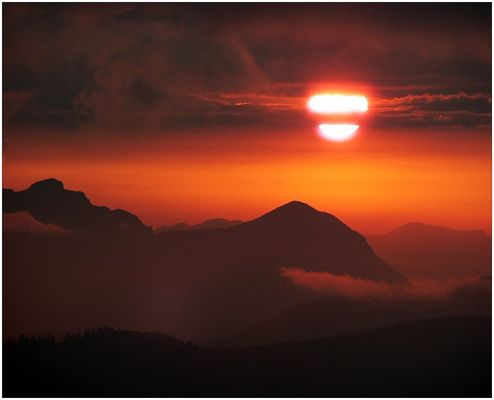 Abends im Karwendel
