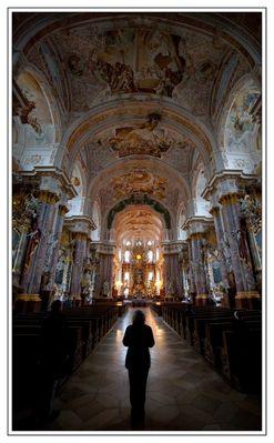 Abends im Kloster Fürstenfeld