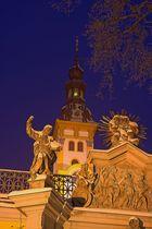 Abends im Kloster Neuzelle