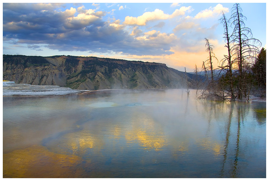 Abends im Yellowstone NP, oder....