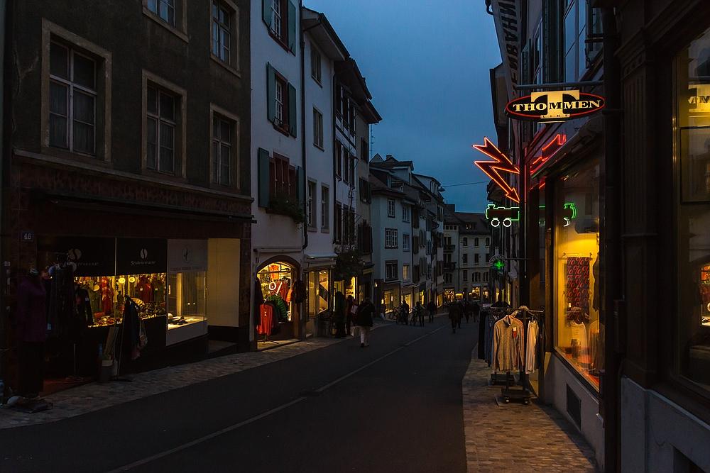 Abends in Basel 07
