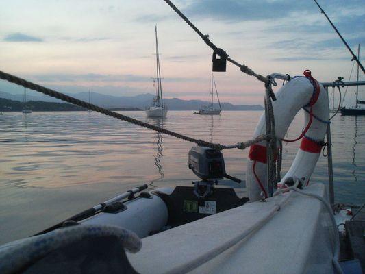 Abends in der Bucht