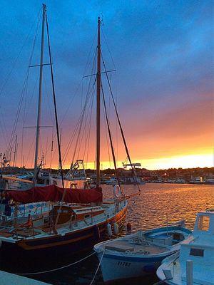 Abends in der Marina