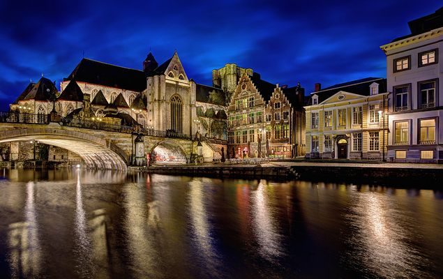 *Abends in Gent*