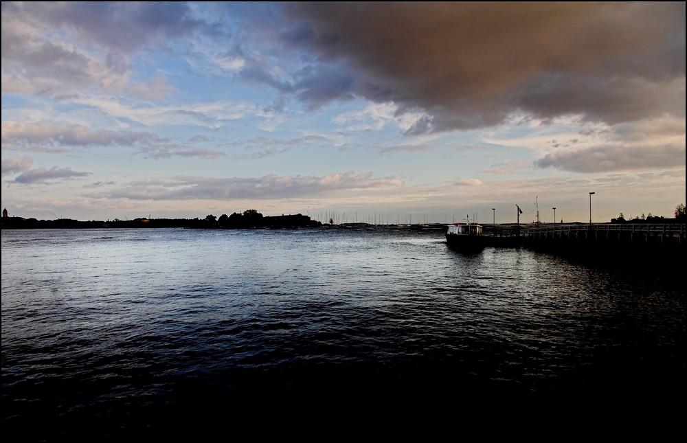 Abends in Helsinki
