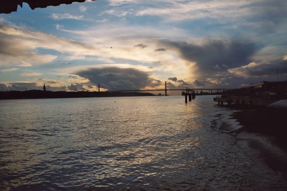 Abends in Lissabon 1