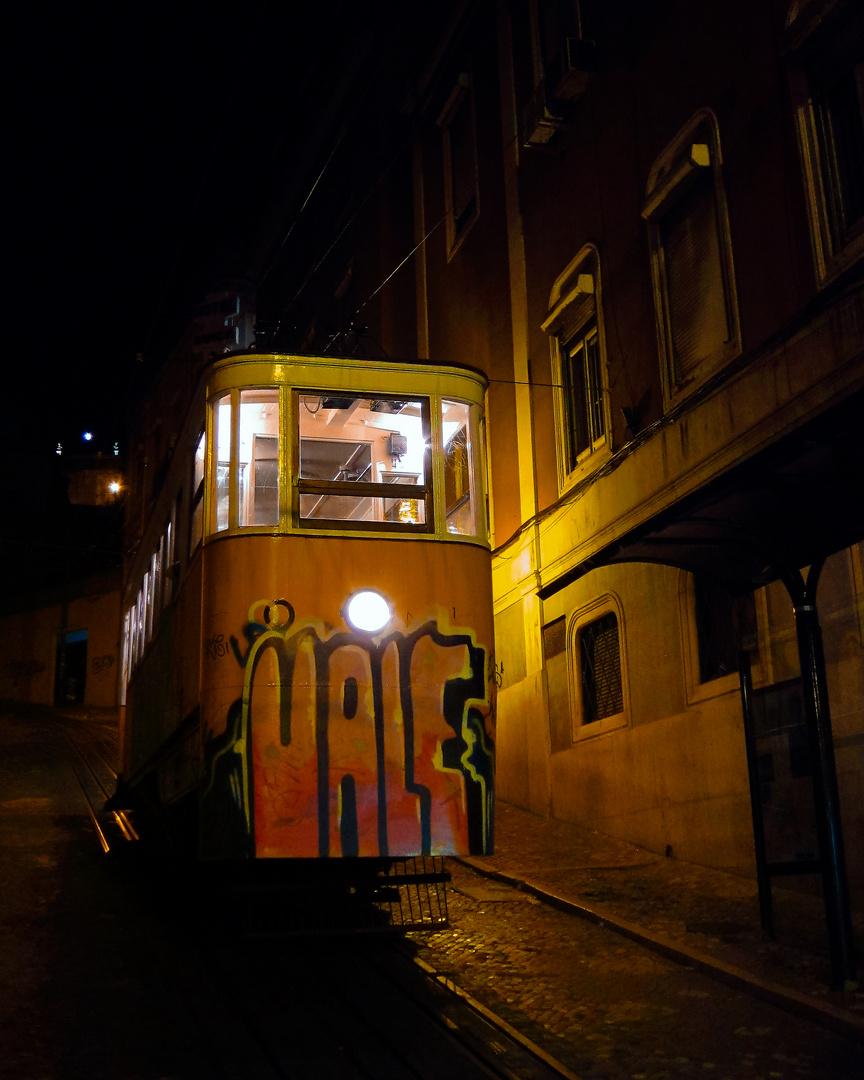 Abends in Lissabon