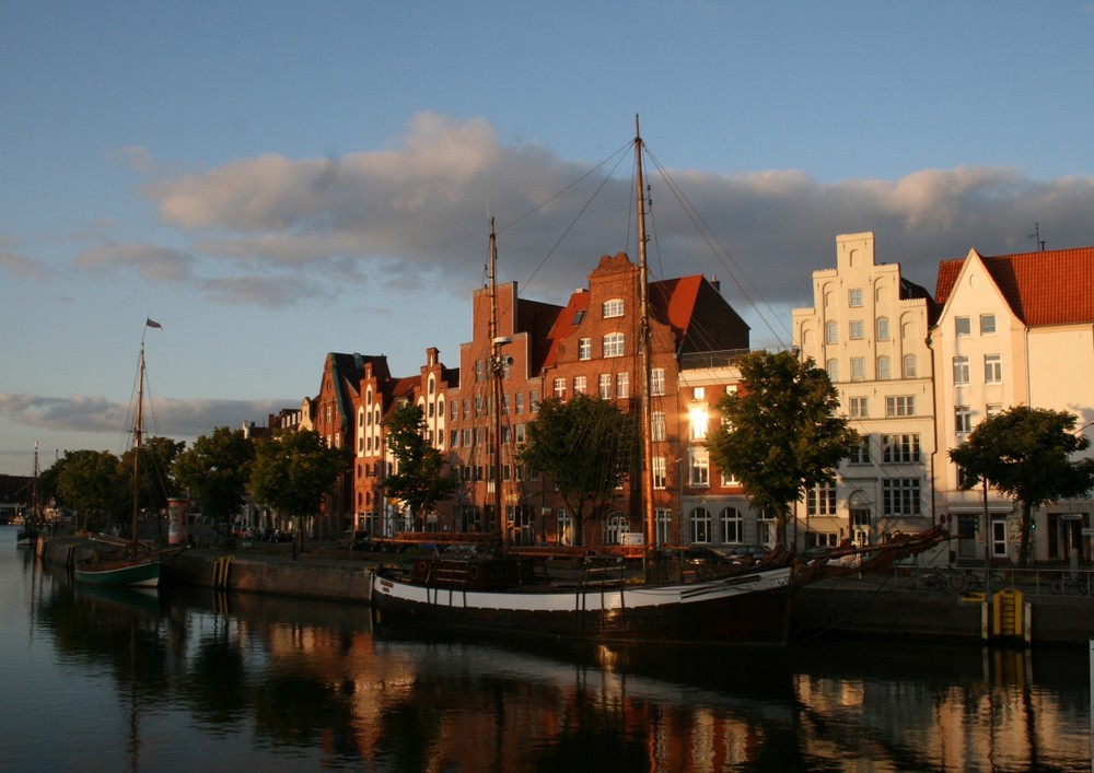 Abends in Lübeck