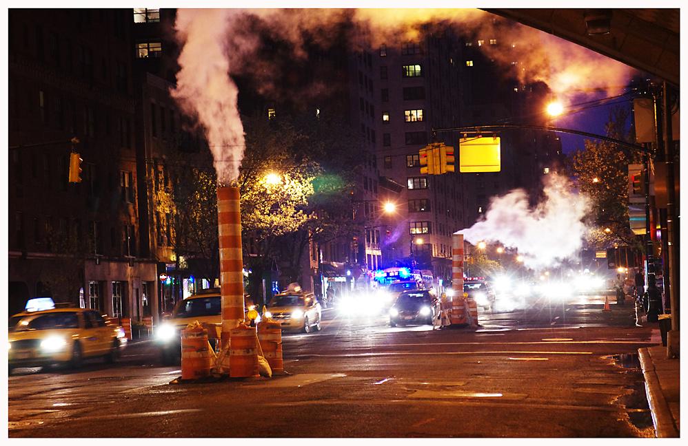 Abends in Manhattan