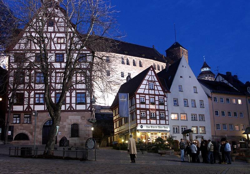 Abends in Nürnbergs Altstadt