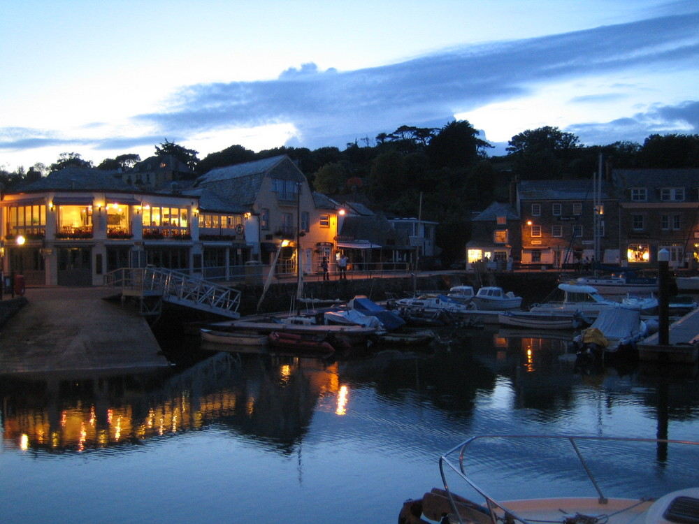 Abends in Padstow