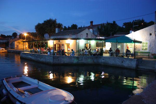 Abends in Pogana, Punta Kriza, Cres
