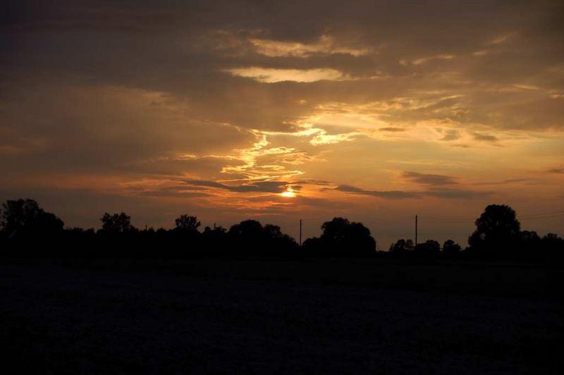 Abends in Puchheim