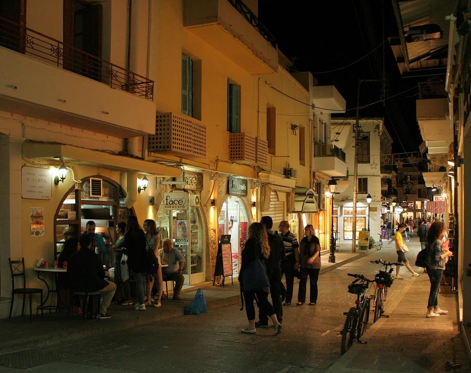 Abends in Rethymnon (2)
