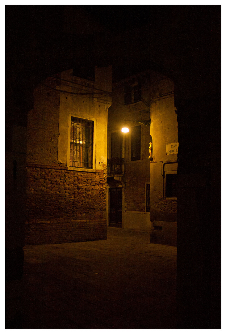 Abends kann Venedig so still sein