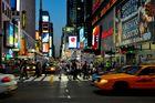 Abends unterwegs in Manhattan