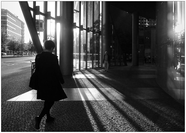 Abends werden die Schatten lang