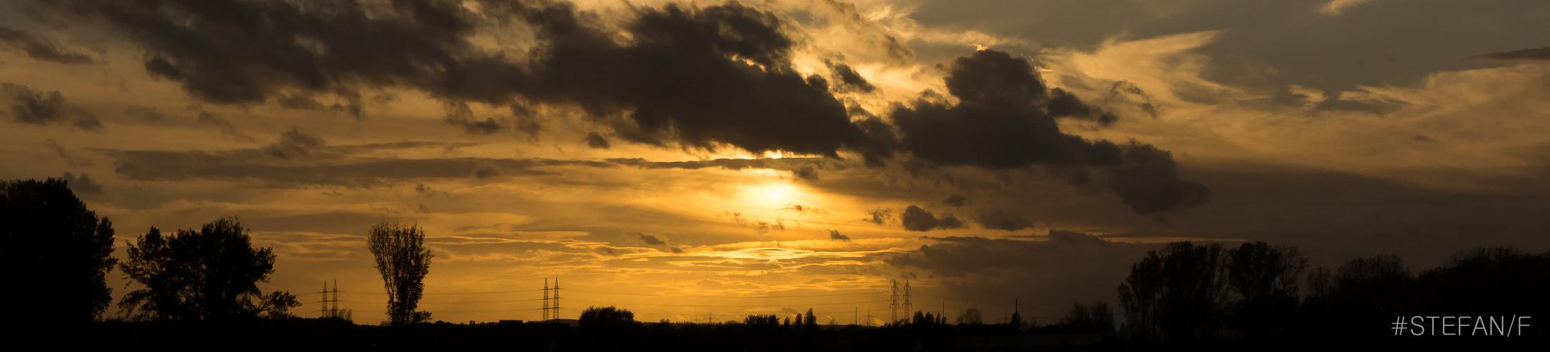 Abendsonne....