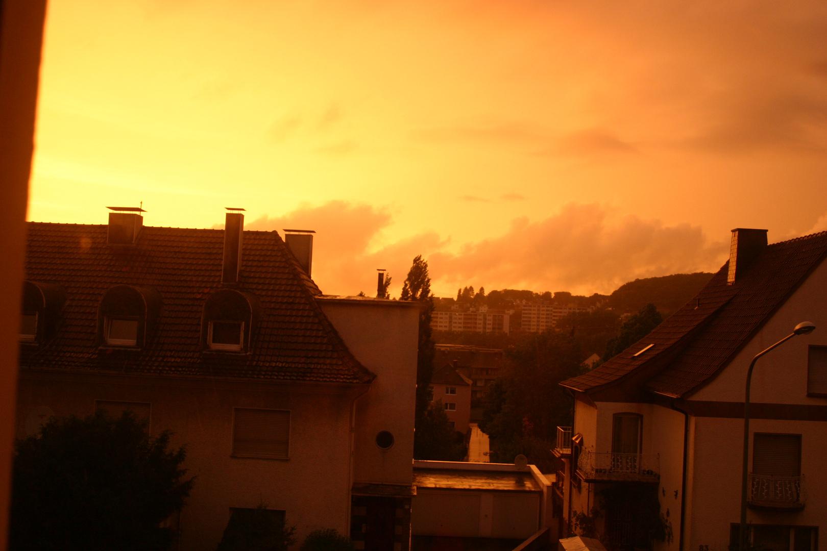 Abendsonne ;)