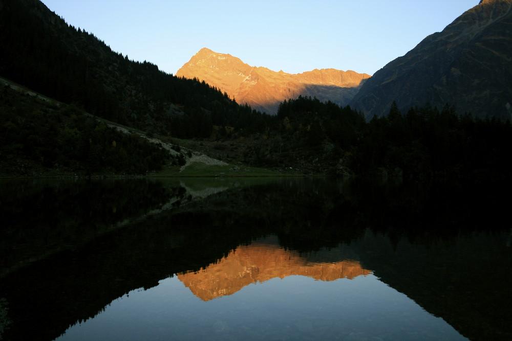 Abendsonne am Düssistock