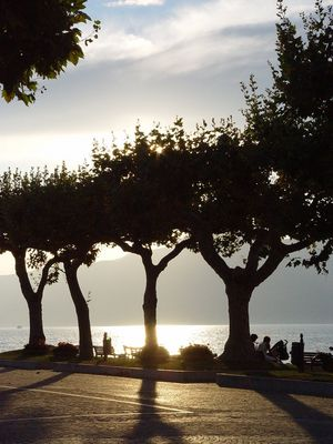 Abendsonne am Gardasee