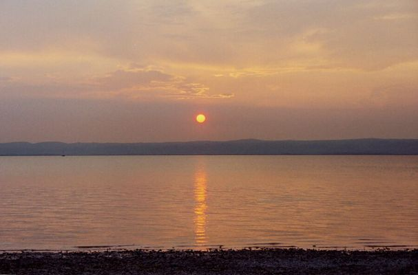 """Abendsonne am Neusiedlersee"" - redone"