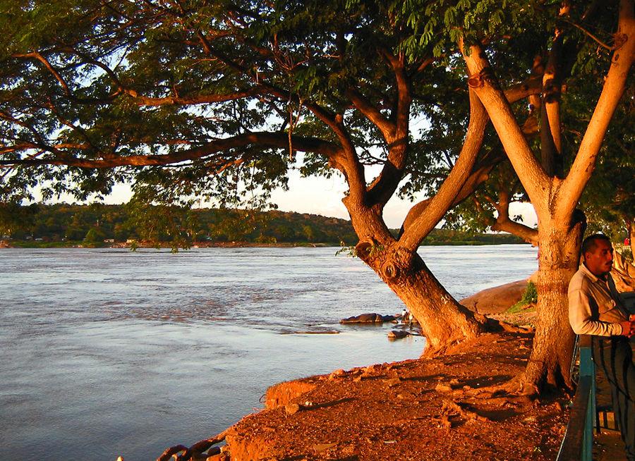 Abendsonne am Orinoco, Ciudad Bolivar