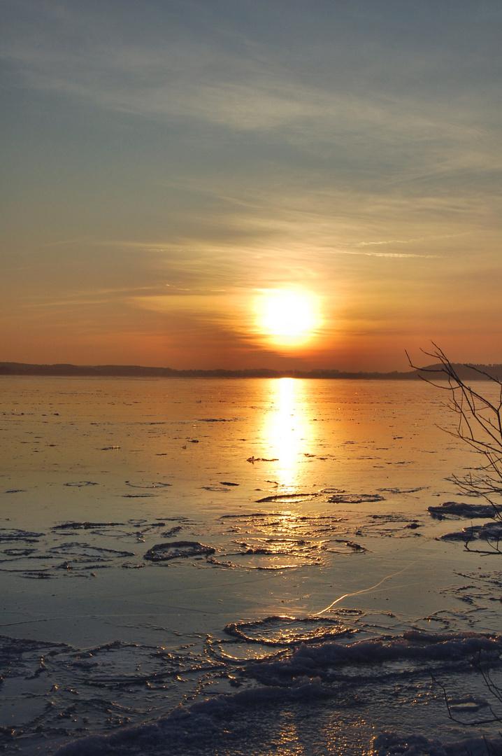 Abendsonne am Plönersee