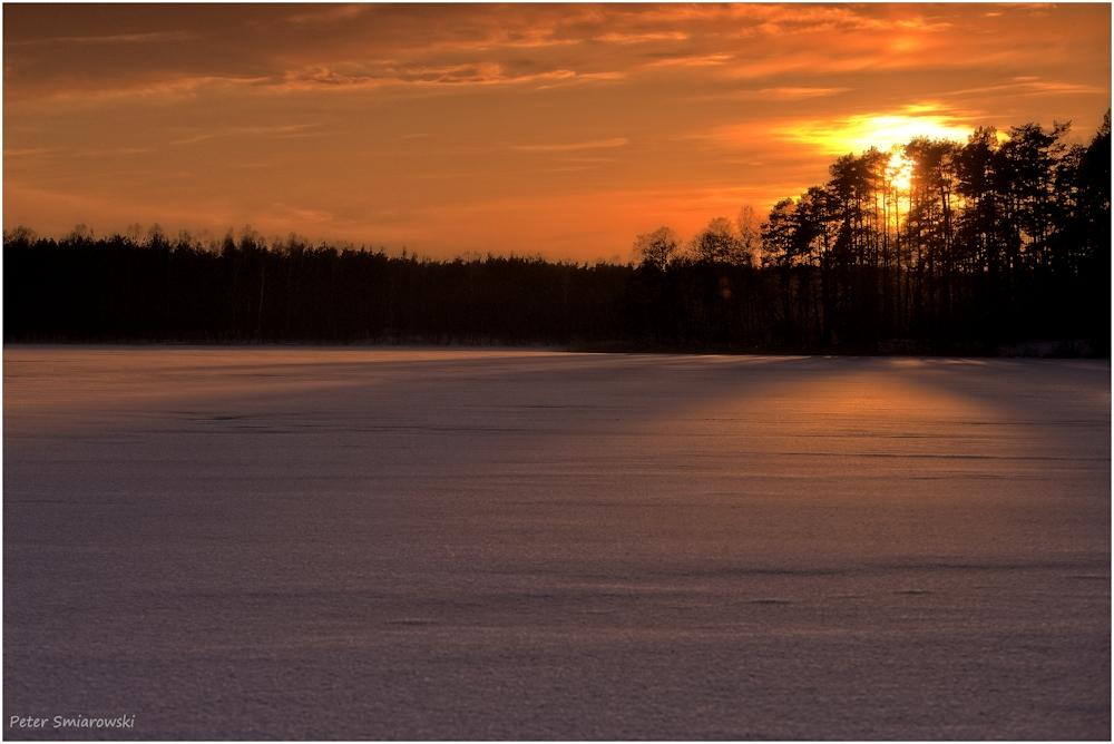 Abendsonne am Rekowesee