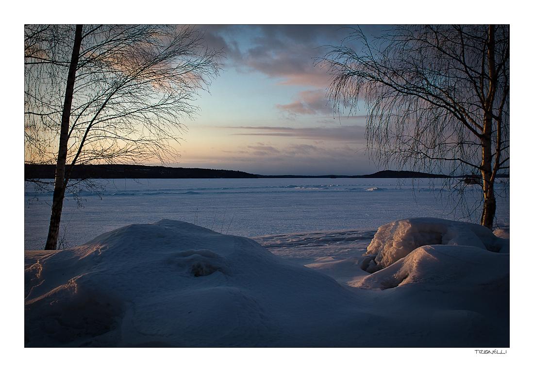 Abendsonne am Vesijärvi