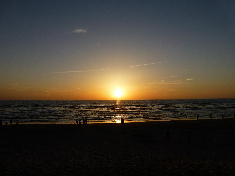 Abendsonne auf Ameland ...