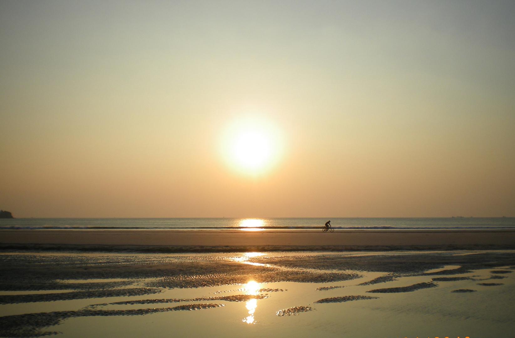 Abendsonne auf Koh Payam