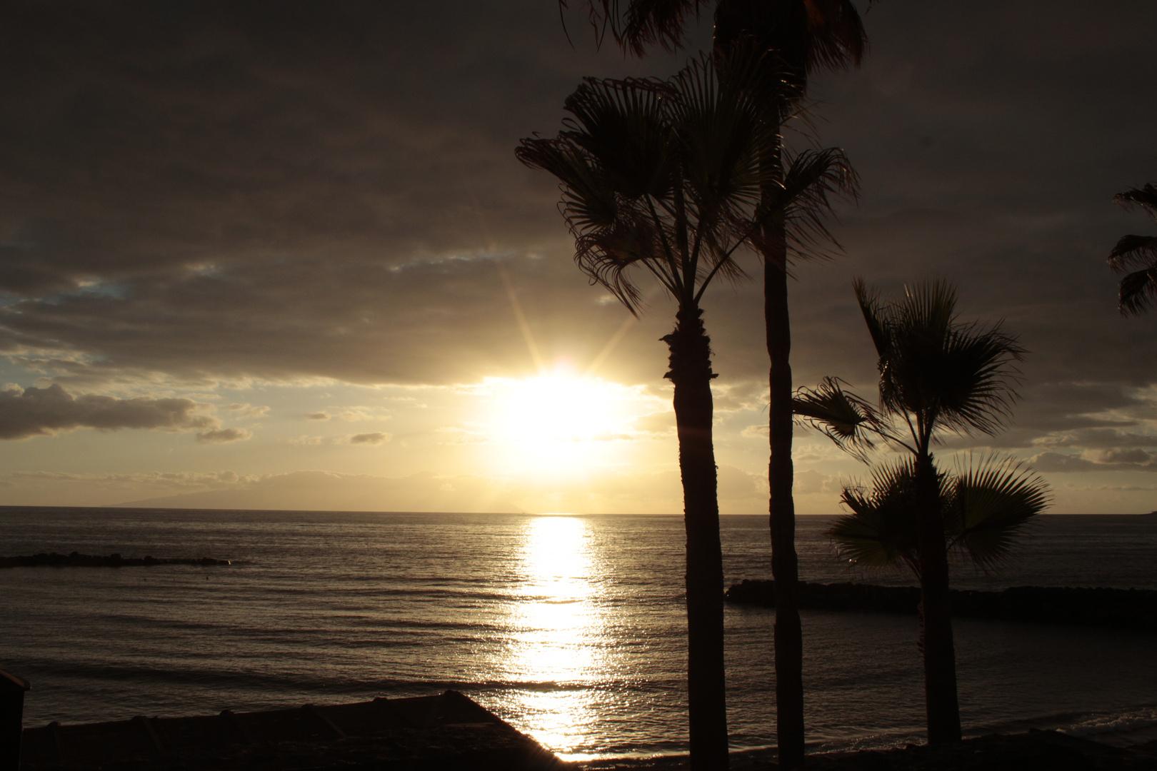 Abendsonne auf Teneriffa