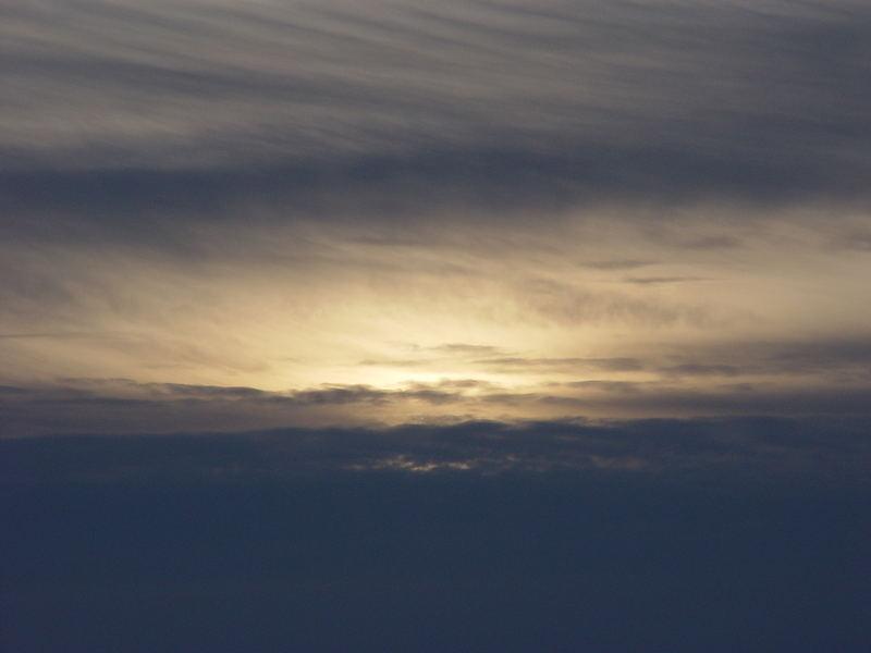 Abendsonne bei C -18°