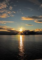 Abendsonne im Fjord