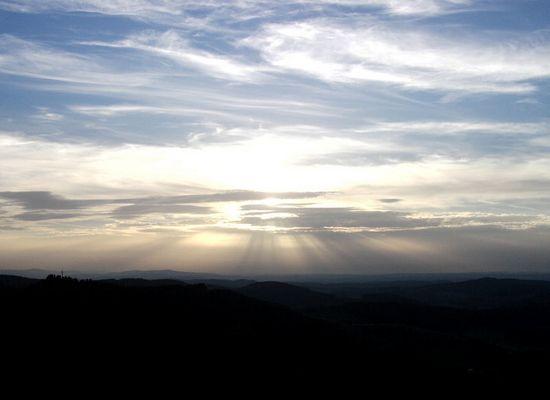 Abendsonne im Herbst 2005
