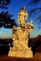 Abendsonne im Schlosspark