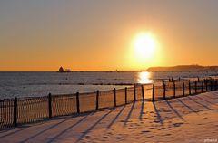 Abendsonne im Schnee